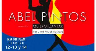 Abel Pintos comienza su gira 2021 en Mar del Plata