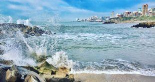 Mar del Plata y una cifra récord: la temperatura del mar superó los 24º