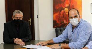 Ferraresi se reunió con intendentes de los municipios bonaerenses de Saladillo y Tordillo