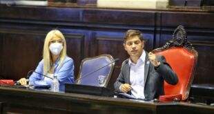 "Axel Kicillof anunció ""un plan integral para casos críticos de violencia de género"""