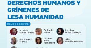Diplomatura Universitaria en Derechos Humanos y Crímenes de Lesa Humanidad en la UAA