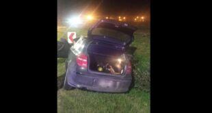 Se hombre se fue sin pagar de la estación de servicio y manejó borracho por la Ruta 2