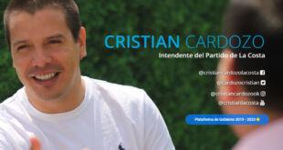 Cardozo invitó a vecinos y vecinas a dejar consultas y propuestas en su sitio web