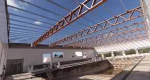 Mar del Tuyú | Avanza la construcción del Natatorio y Centro de Deportes