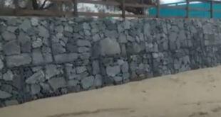 Video | Continúan los trabajos con gaviones en Santa Teresita