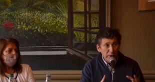 Gustavo Posse visitó San Clemente del Tuyú y planteó la interna de Juntos por el Cambio