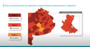 La Costa continua en Fase 2 y otros 16 municipios pasaron a Fase 3