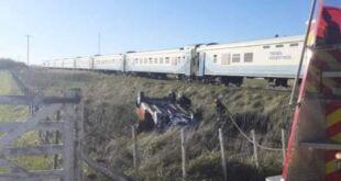 Un joven de 27 años murió al ser atropellado por el tren en Coronel Vidal