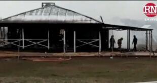 Se registró un incendio en una vivienda de Paraje Pavón