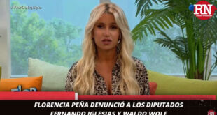 Florencia Peña denunció a los diputados Iglesias y Wolf por discriminación
