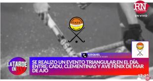 Se realizó un evento triangular de hockey en La Costa