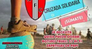 La Liga de Fútbol de La Costa solicita la donación de botines para niños y niñas