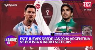 Hoy | Argentina – Bolivia por Radio Noticias