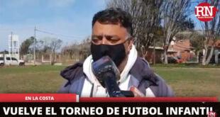 Vuelven los torneos de fútbol infantil en La Costa