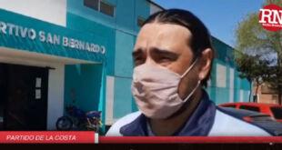 Volvió el vóley de la Escuela Municipal luego de la suspensión por pandemia