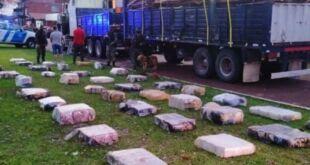 El dueño del camión donde se incautaron más de 2.300 kilos de marihuana se desvinculó del hecho