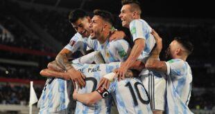 Argentina cada vez mas cerca de Qatar 2022