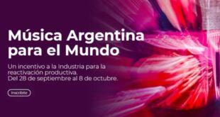 Lanzan el programa «Música Argentina para el Mundo» destinado a apoyar la industria musical