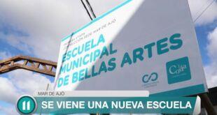 Cardozo anunció la construcción de 3 nuevas escuelas en La Costa