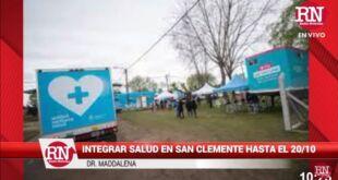 Integrar Salud brinda atención en San Clemente